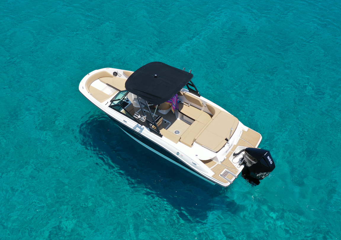 luxury boat for rent in protaras
